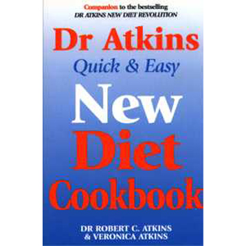 Dr Atkins Quick & Easy New Diet Cookbook