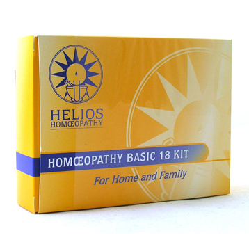 Homeopathy Basic 18 Home Kit