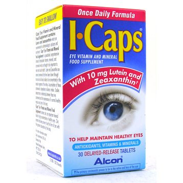 ICAPS Eye Vitamins