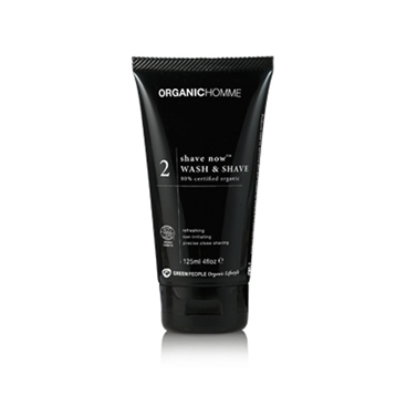 Organic Homme Shave Now Shaving Gel