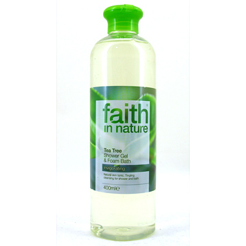 Tea Tree Foam Bath and Shower Gel