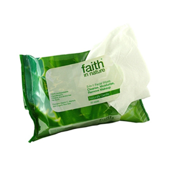 3 in 1 Facial Wipes 25 Pack
