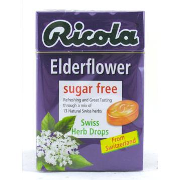 Elderflower Swiss Herb Drops