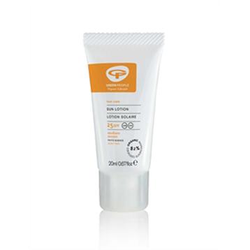 Organic No Scent Sun Lotion SPF22
