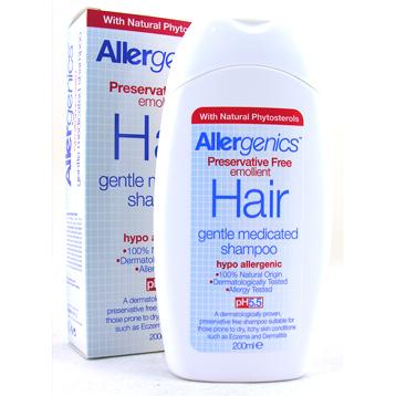 Allergenics Emollient Hair Shampoo