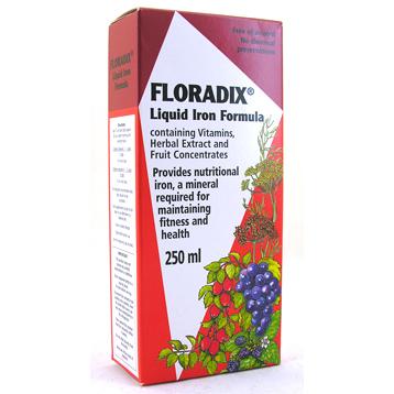Floradix Liquid Iron Formula