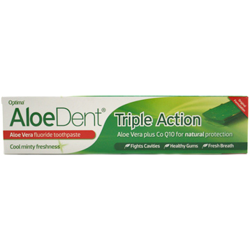 Aloe Dent Triple Action Toothpaste with Fluoride
