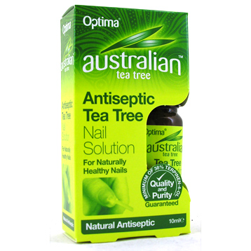 Antiseptic Tea Tree Nail Solution