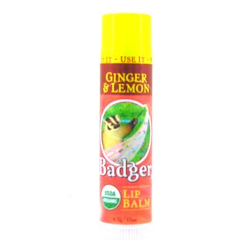 Ginger & Lemon Lip Balm