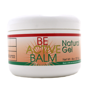 Be Active Balm Natural Pain Relief Gel 8oz