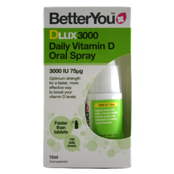 Dlux3000 Daily Vitamin D Oral spray 3000 IU 75mg