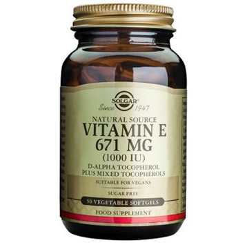 Vitamin E 671mg Vegetable Softgels