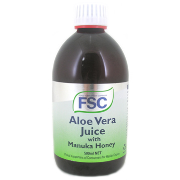 Aloe Vera And Manuka Honey Juice