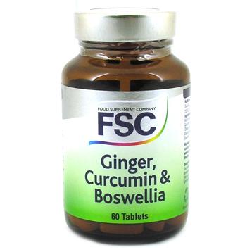 Ginger, Curcumin & Boswellia