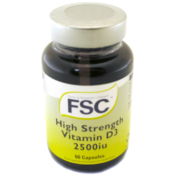 High Strength Vitamin D3 2500iu