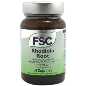 Standardised Rhodiola