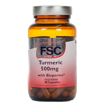 Turmeric with Bioperine 500mg 90 Vegetarian Capsules