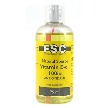 Natural Source Vitamin E Oil