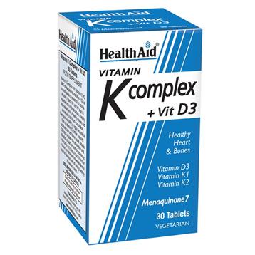 Vitamin K Complex + Vit D3