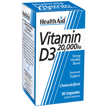 Vitamin D3 20,000iu