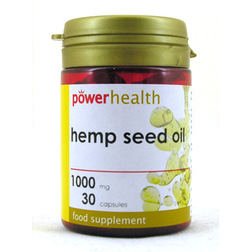 Hemp Seed Oil & Vitamin E