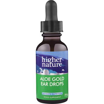 Aloe Gold Herbal Ear Drops