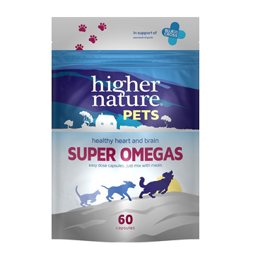Super Omegas For Cats & Dogs 60 Caps