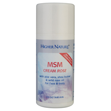 Higher Nature Msm Cream Reviews