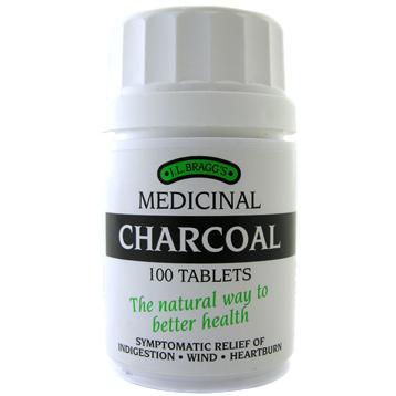 J.L. Bragg's Medicinal Charcoal Tablets