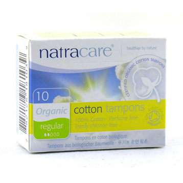 Organic Non-Applicator Tampons