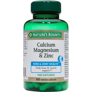 Nature's Bounty Calcium, Magnesium & Zinc