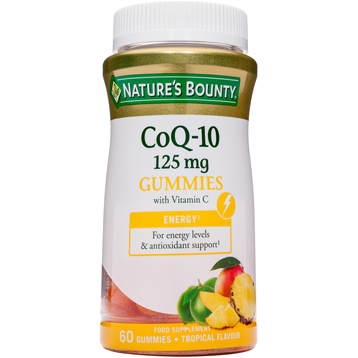Nature's Bounty COQ-10 125mg with Vitamin C Gummies