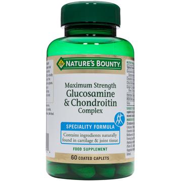 Nature's Bounty Maximum Strength Glucosamine & Condroitin Complex
