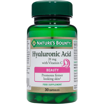 Nature's Bounty Hyaluronic Acid 20mg with Vitamin C