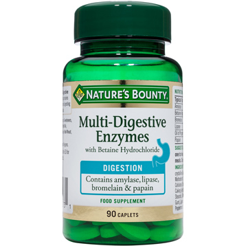 Nature's Bounty Multi-Digestive Enzymes with Betaine Hydrochloride