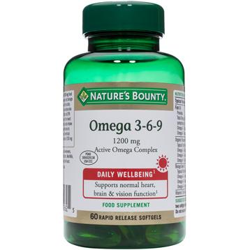 Nature's Bounty Omega 3-6-9 1200mg