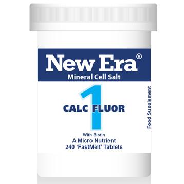 New Era No.1 Calc Fluor (Calcium Fluoride)