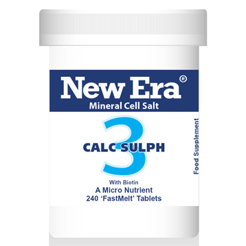 New Era No. 3 Calc. Sulph. (Calcium Sulphate)
