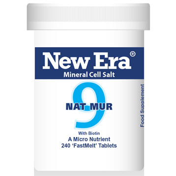 New Era No. 9 Nat. Mur. (Sodium Chloride)