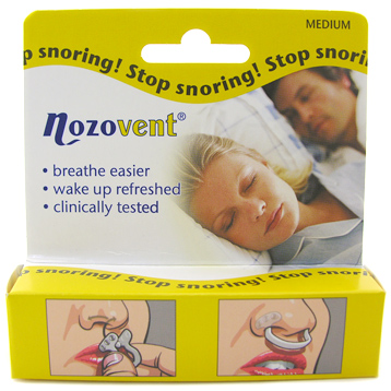 Nozovent Stop Storing Nasal Dilator