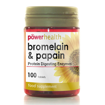 Bromelain and Papain