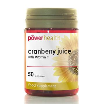 Cranberry Juice & Vitamin C Capsules