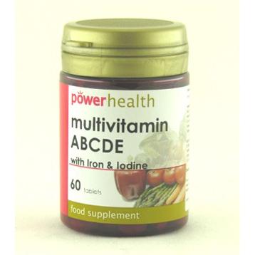 Multivitamin ABCDE & Iron