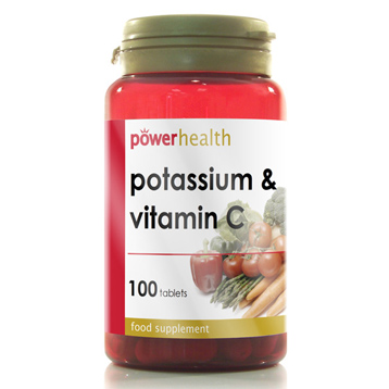 Potassium 200mg + Vitamin C