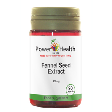 Fennel Seed Extract 480mg 90 Capsules