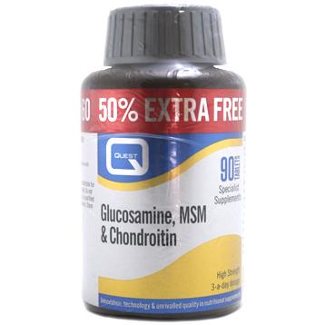 Glucosamine, MSM & Chondroitin