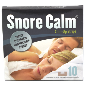 Snore Calm Chin-Up Strips