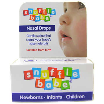 Snufflebabe Saline Nasal Drops