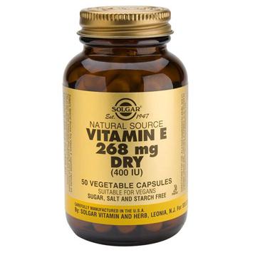 Dry Vitamin E 268mg Softgels