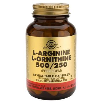 L-Arginine & L-Ornithine 500/250